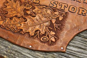 Traditional Leaf Carving